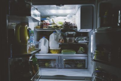 v chladničce